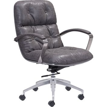 Avenue Office Chair Vintage, Gray