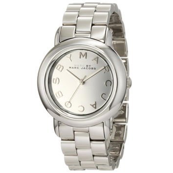 Marc by Marc Jacobs MBM3097 Women's Marci Silver Tone Dial Stainless Steel Bracelet Watch