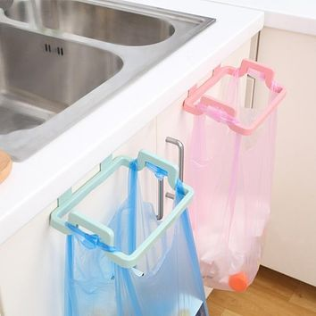 Plastic Cabinet Kitchen Organizer Portable Kitchen Trash Bag Holder Garbage Bag Holder Incognito Cabinets Cloth Rack Towel Rack