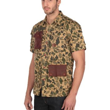 Under Two Flags Short Sleeve Militia Shirt