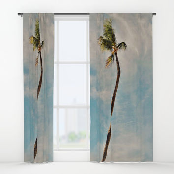 summer vibes Window Curtains by JG-DESIGN