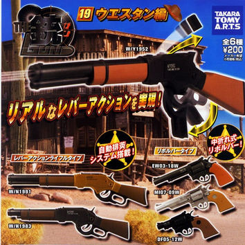 Takara Tomy The Gun Gashapon Part 19 Western Ver 6 Mini Collection Figure Set