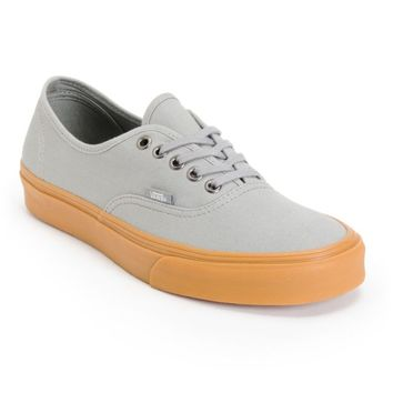 Vans Authentic Frost Grey & Gum Canvas