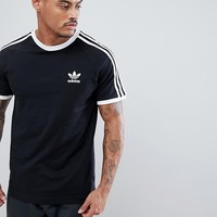 adidas Originals adicolor california t-shirt in black cw1202 at asos.com
