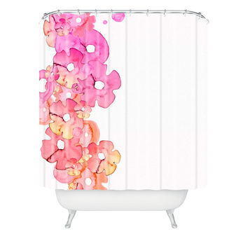 Monika Strigel Fantasia Flurished Shower Curtain