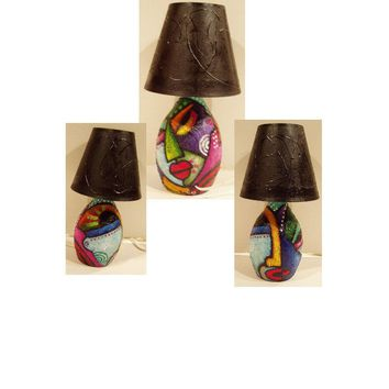Hand Painted Lamp #3