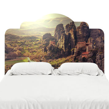 The Meteora Headboard Decal