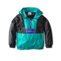 Columbia Kids Flashback™ Windbreaker (Little Kids/Big Kids) Sea Turtle Shark/Light Grape - Zappos.com Free Shipping BOTH Ways