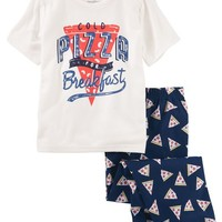 2-Piece Pizza PJs