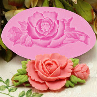 Rose Silicone Fondant Cake Chocolate Mold Craft Decorating Tools Mould