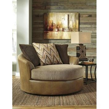 Declain Oversized Swivel Accent Chair