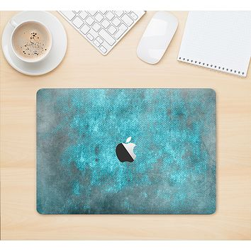 "The Grungy Bright Teal Surface Skin Kit for the 12"" Apple MacBook"