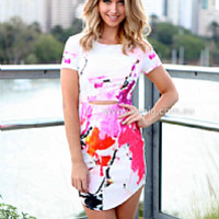 WIPE OUT DRESS , DRESSES, TOPS, BOTTOMS, JACKETS & JUMPERS, ACCESSORIES, SALE NOTHING OVER $25, PRE ORDER, NEW ARRIVALS, PLAYSUIT, GIFT VOUCHER,,Pink,Print Australia, Queensland, Brisbane
