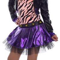 Deluxe Monster High Clawdeen Wolf Costume