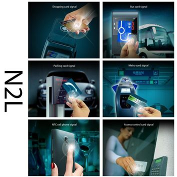 TechKara N2 Nail Sticker Intelligent Accessories NFC Lock 3D Design for N2F Screen Protector No Charge Required