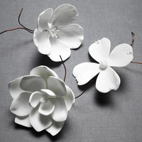 Porcelain Blooms in  the SHOP Decor Tabletop at BHLDN