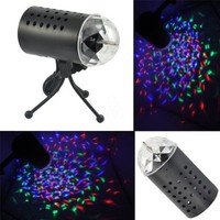 TSSS® Disco DJ Stage Lighting LED RGB Crystal Light DJ Disco KTV Birthday Party Wedding Show Club Pub Bar