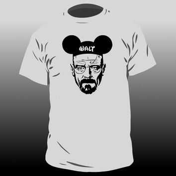 Mens/Unisex Walter White Breaking Bad Tshirt with Funny Walt Hat - Heisenberg