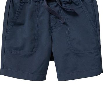Old Navy Pull On Poplin Shorts For Baby