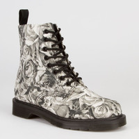 Dr. Martens Beckett Womens Boots Black/Grey  In Sizes