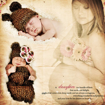 Maternity Expecting Mother Newborn Baby Nursery Decor Photo Art Custom Photo Editing