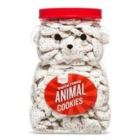 Frosted White Animal Cookie 44oz - Market Pantry™