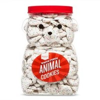 Frosted White Animal Cookie 44 oz - Market Pantry™