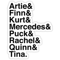 glee originals & & &