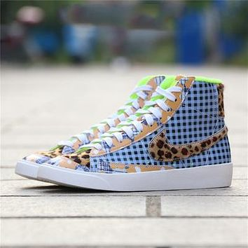 Nike Blazer Mid 77 Vintage high-top men's and women's canvas sneakers shoes