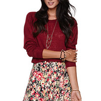 LA Hearts Long Sleeve Cropped Top at PacSun.com