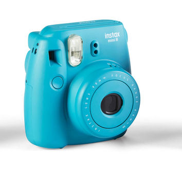 Fujifilm Instax™ Mini 8 Camera, Tile Blue