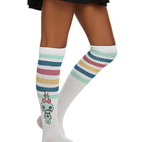 Disney Lilo & Stitch Striped Knee-High Socks