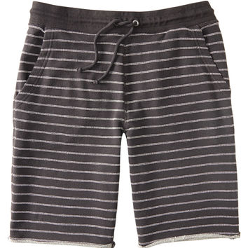 Novelty Stripe Knit Jogger Shorts