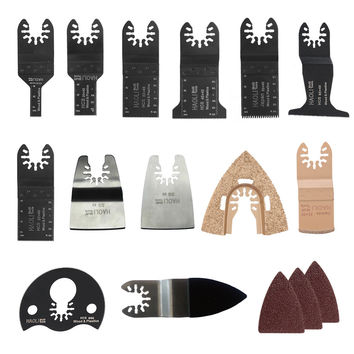 38 pcs oscillating tool saw blade accessories for multifunction electric tool as Fein power tool etc wood metal cutting home DIY