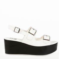 Text Club: Chrissy Platform Sandal
