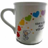 Hallmark Mug Rainbow Hearts Have a Day Filled with Love Made Japan