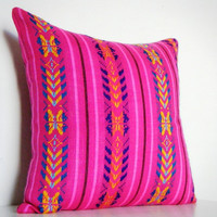 Geometric Decorative Pillow Tribal Aztec African by CityGirlsDecor
