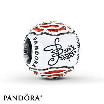 PANDORA Charm Disney, Belle's Enchanted Rose/St. Silver
