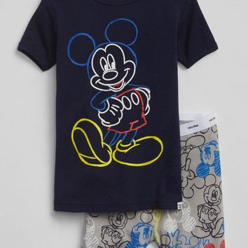 babyGap | Disney Mickey Mouse Sleep Set|gap