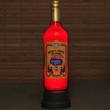 Samuel Smith English Oatmeal Stout 550ml LED Beer Bottle Lamp Night Light Bar Man Cave