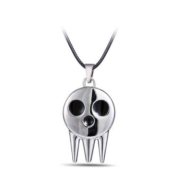Soul Eater Metal Skull Anime Necklace