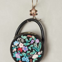 Embroidered Circle Bag
