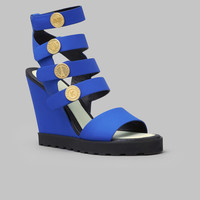 Kenzo Legionnaire Wedge Sandals - WOMEN - JUST IN - Footwear - Kenzo - OPENING CEREMONY