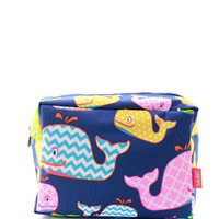 Whale Cosmetic Bag
