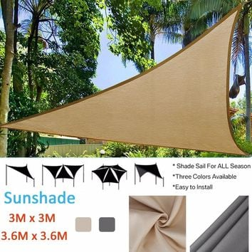 Outdoor Sun Shelter Waterproof Awning Canopy Garden Beach Picnic Tent Beach Shade Tarp Pergola Fishing Camping Sunshade Gazebo