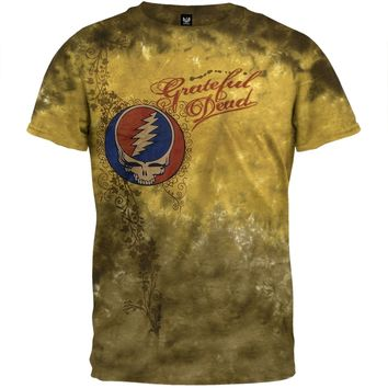 Grateful Dead - Heart Of Gold Tie Dye T-Shirt