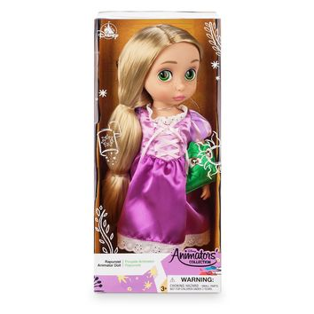 Disney 2019 Animators' Collection Tangled Rapunzel Pascal Doll New with Box