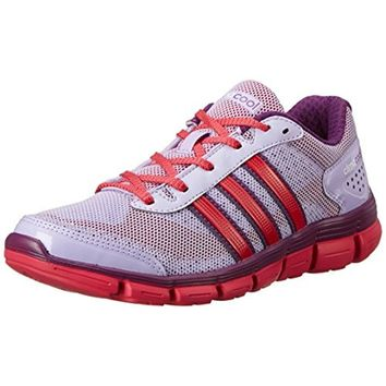 Adidas Girls CC Fresh XJ Contrast Trim Mesh Running Shoes