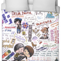 Dan and Phil Collage Duvet Cover
