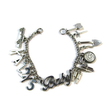Baby: A Supernatural Impala Inspired Charm Bracelet
